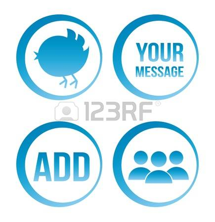 Twitter clipart circle clip royalty free library 727 Twitter Stock Vector Illustration And Royalty Free Twitter Clipart clip royalty free library