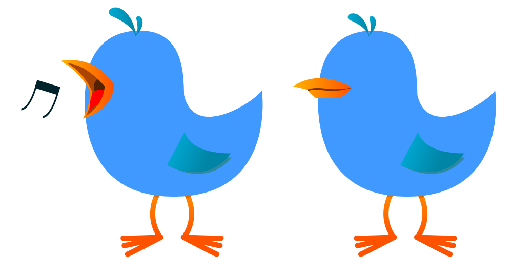 Twitter clipart png image library clipartist.net » Clip Art » Twitter Bird Tweet Tweet 5 clipartist ... image library