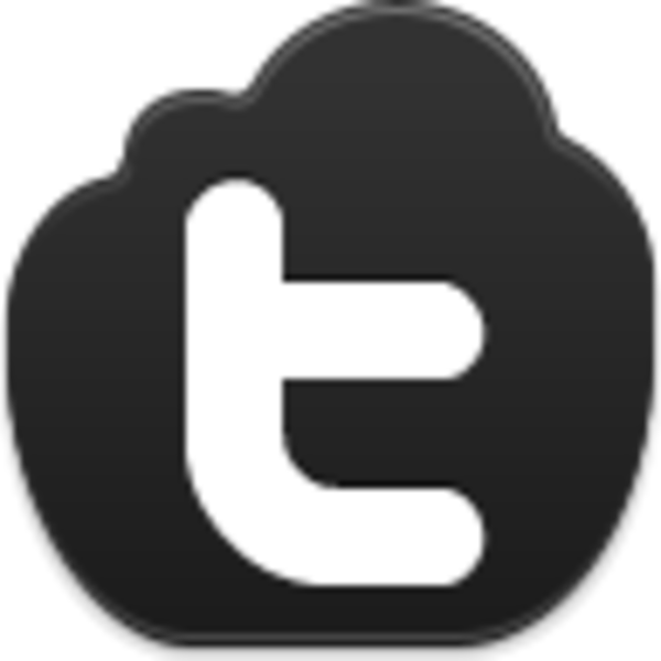 Twitter clipart png black picture freeuse stock Twitter Icon | Free Images at Clker.com - vector clip art online ... picture freeuse stock