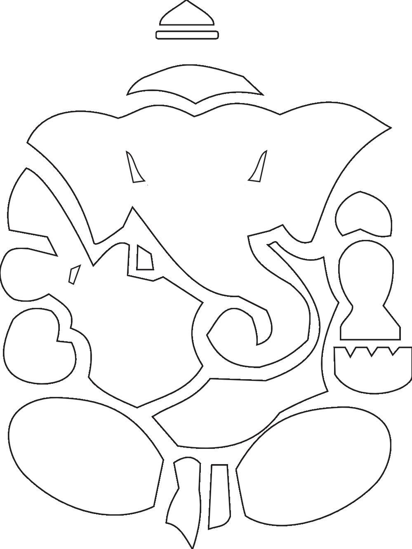 Twitter clipart png black clip art freeuse Lord Ganesha Yoga Ganesh 4 Facebook Header Black White Twitter ... clip art freeuse