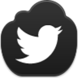 Twitter clipart png black transparent library Twitter Bird Icon | Free Images at Clker.com - vector clip art ... transparent library