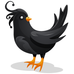Twitter clipart png black graphic freeuse library Black Twitter Bird Icon, PNG ClipArt Image | IconBug.com graphic freeuse library