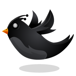 Twitter clipart png black royalty free stock Black Twitter Bird 2 Icon, PNG ClipArt Image | IconBug.com royalty free stock