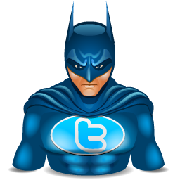 Twitter clipart size vector library library Batman Twitter Icon, PNG ClipArt Image | IconBug.com vector library library
