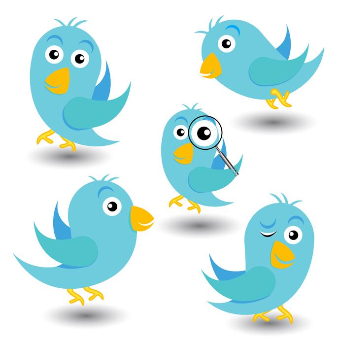 Twitter clipart vector jpg library 30+ Twitter Bird Vectors | Download Free Vector Art & Graphics ... jpg library