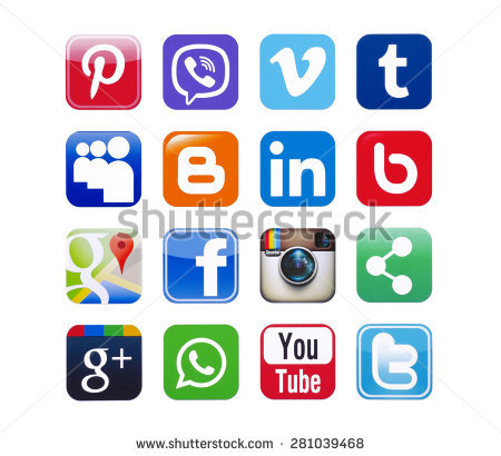 Twitter facebook clipart picture royalty free library Facebook Stock Images, Royalty-Free Images & Vectors | Shutterstock picture royalty free library