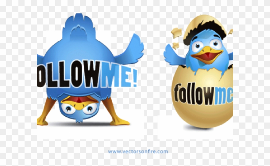 Twitter follow clipart image royalty free download Twitter Clipart Happy Bird - Follow Me And Ill Follow You ... image royalty free download