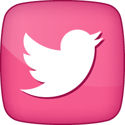 Twitter icon clipart clip royalty free Pink Twitter Icon, PNG ClipArt Image | IconBug.com clip royalty free