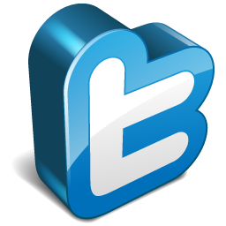 Twitter logo clipart png clipart royalty free Twitter 3d Icon | Vector Twitter Iconset | Iconshock clipart royalty free