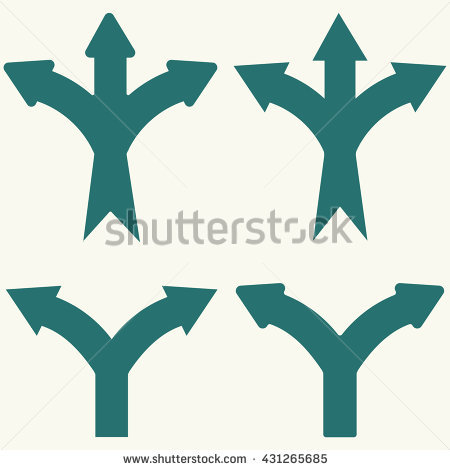 Two and three arrow clipart clip library Three-way Stockfoto's, rechtenvrije afbeeldingen en vectoren ... clip library