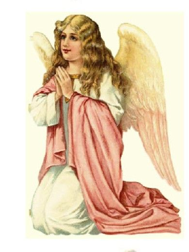 Two angels victorian clipart png transparent library Victorian Angel Clip Art | praying angel praying angel ... png transparent library