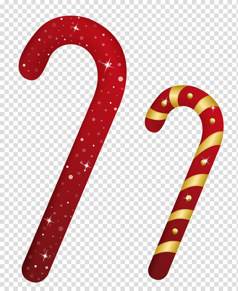 Two ball cane png clipart image freeuse stock Two red Christmas canes illustration, Candy cane Christmas ... image freeuse stock