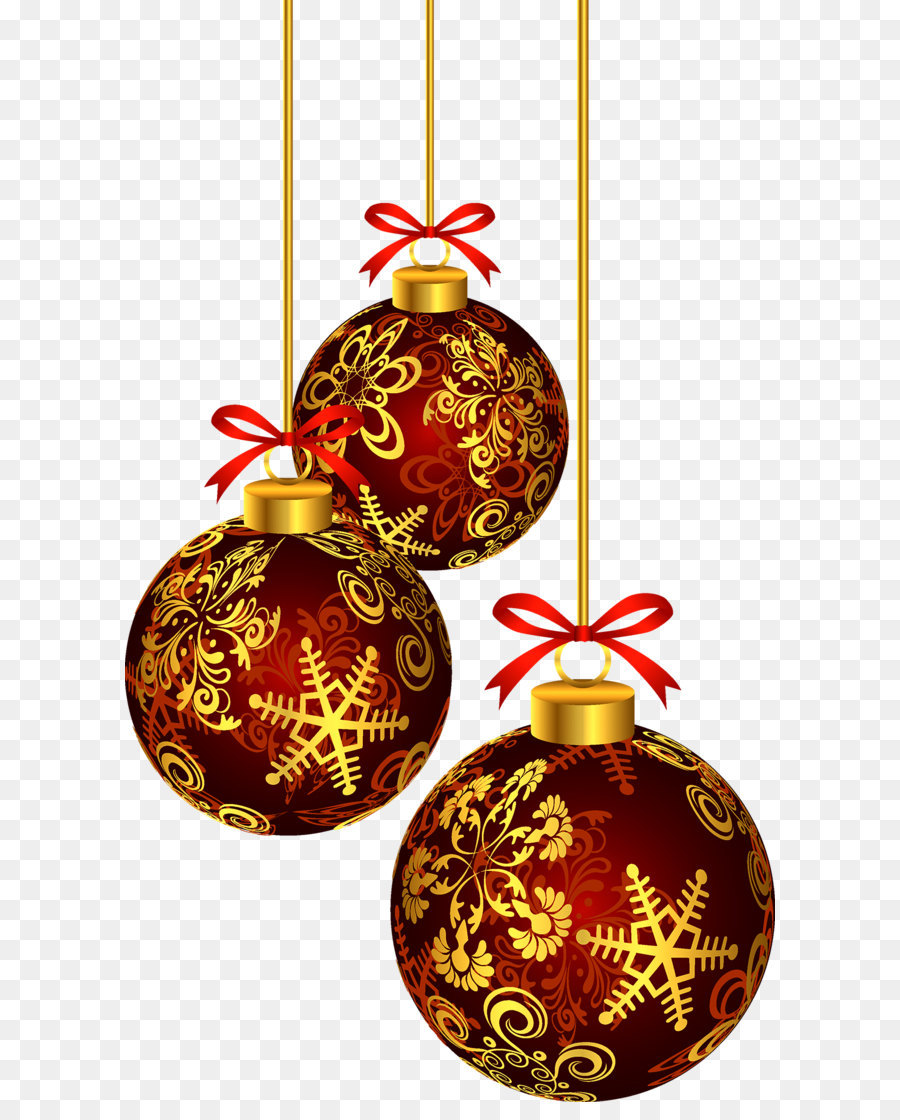 Two ball cane png clipart picture transparent library Red Transparent Christmas Ball PNG Clipart png download ... picture transparent library