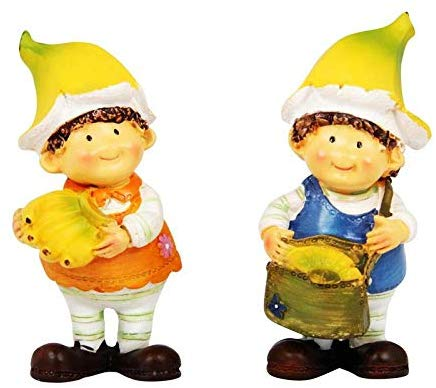 Two boys clipart different heights clipart Wonderland, 3.6 inch Height, Set of 2, Banana Boys Miniature ... clipart