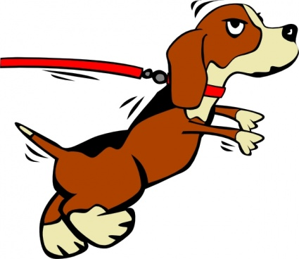 Two boys running with dog on leash clipart graphic stock Free download of Dog On Leash Cartoon clip art Vector ... graphic stock
