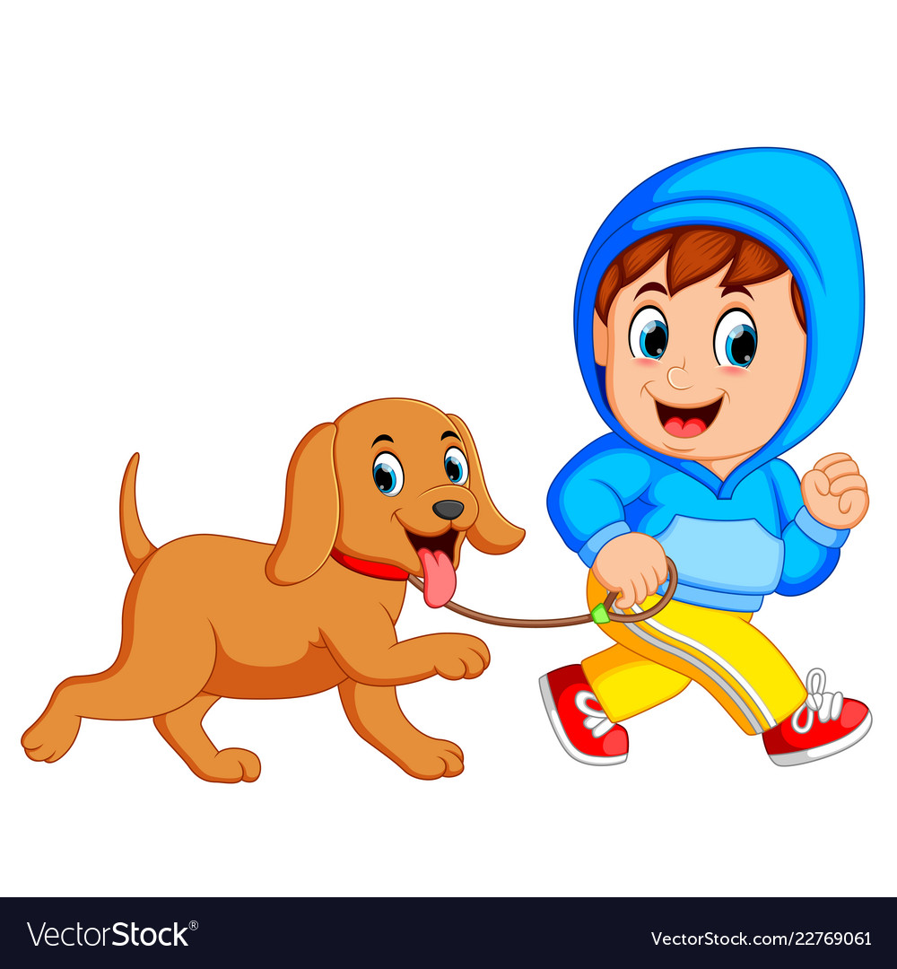 Two boys running with dog on leash clipart svg download A boy running with dog svg download