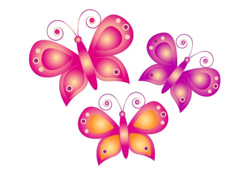 Two butterflies clipart svg black and white stock Free Pictures Of Cartoon Butterflies, Download Free Clip Art ... svg black and white stock