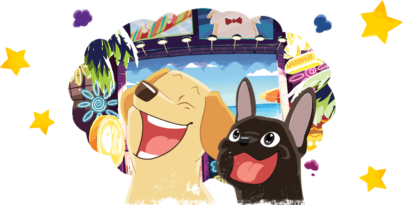 Two dog clipart graphic library library Petlandia Roadtrip graphic library library