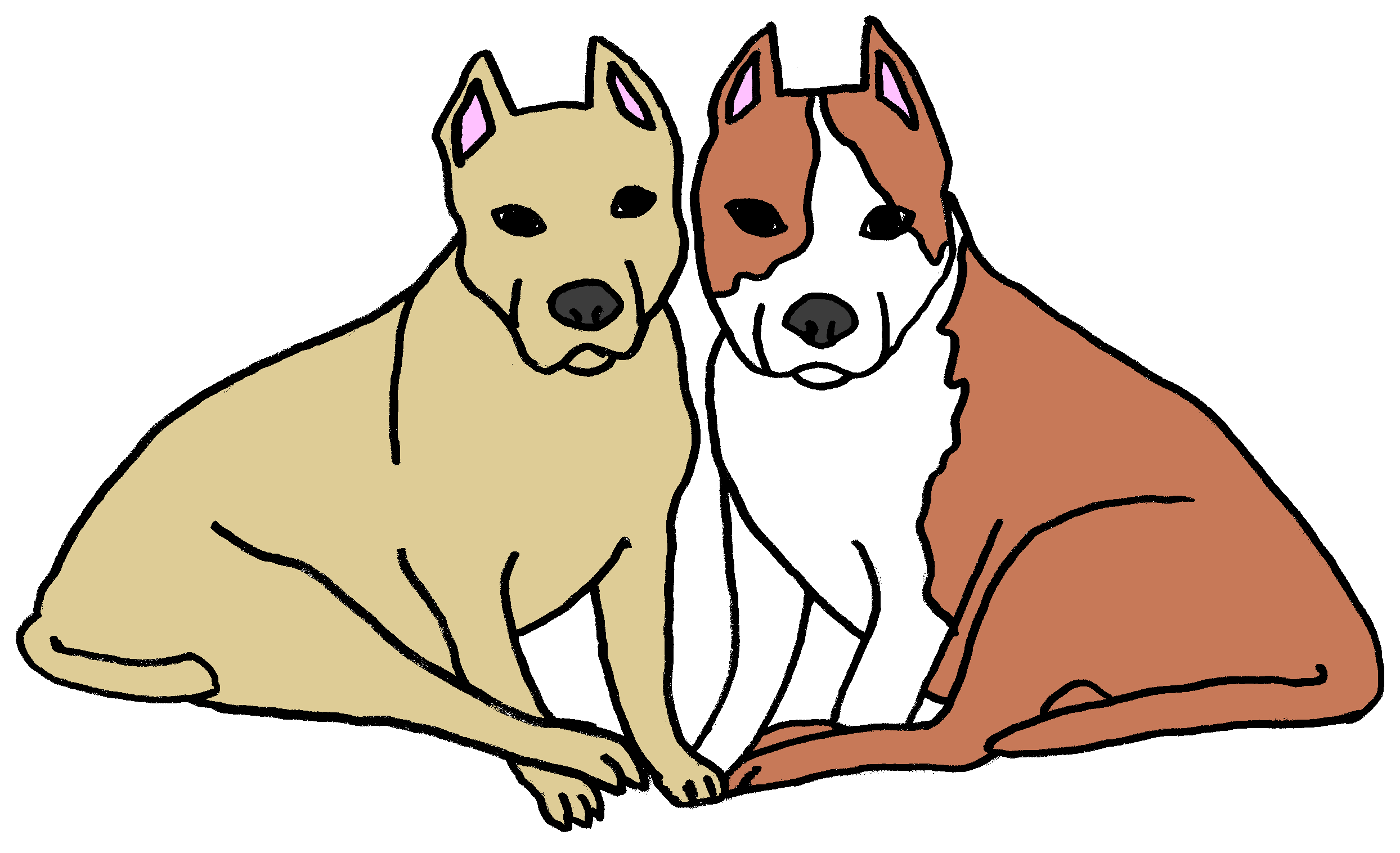 Two dogs clipart image royalty free 2 Dogs Clipart | Free download best 2 Dogs Clipart on ... image royalty free