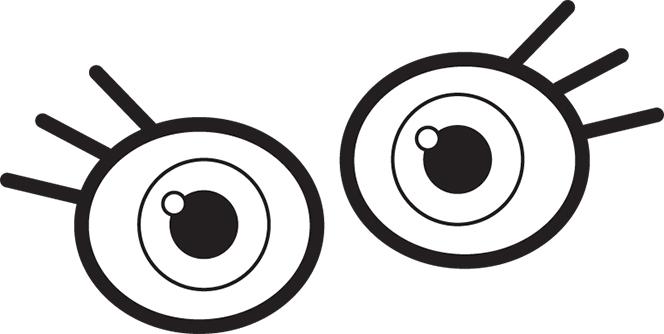 Two eyes clipart jpg transparent Free Eyes Cliparts, Download Free Clip Art, Free Clip Art on ... jpg transparent