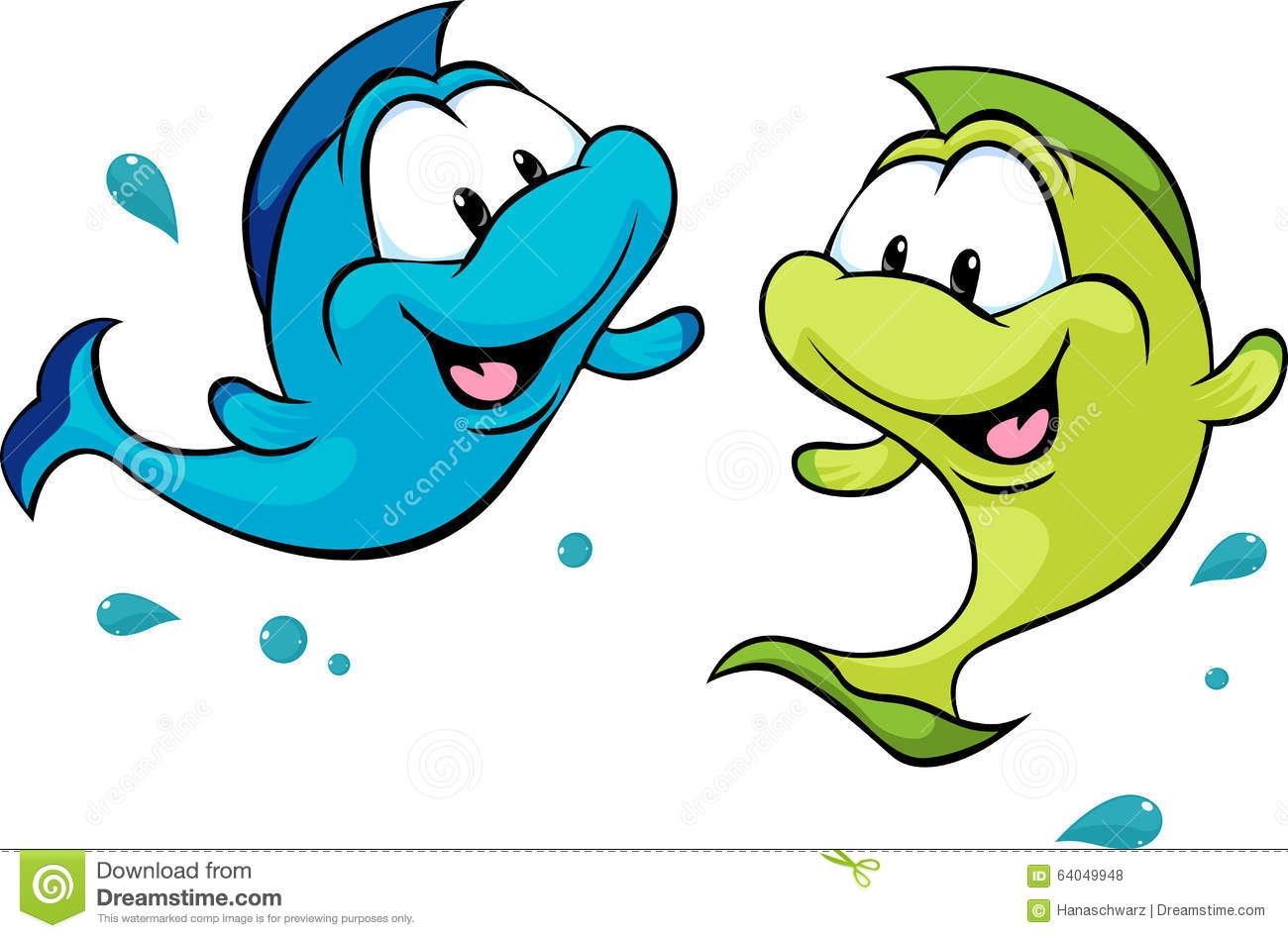 Two fishe clipart png royalty free library One Fish Two Fish Clipart | Free download best One Fish Two ... png royalty free library