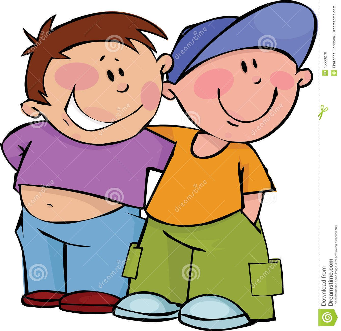 Two freinds hugging clipart emotional jpg free library clipart friends | Two funny boys in a friendly hug. | More ... jpg free library