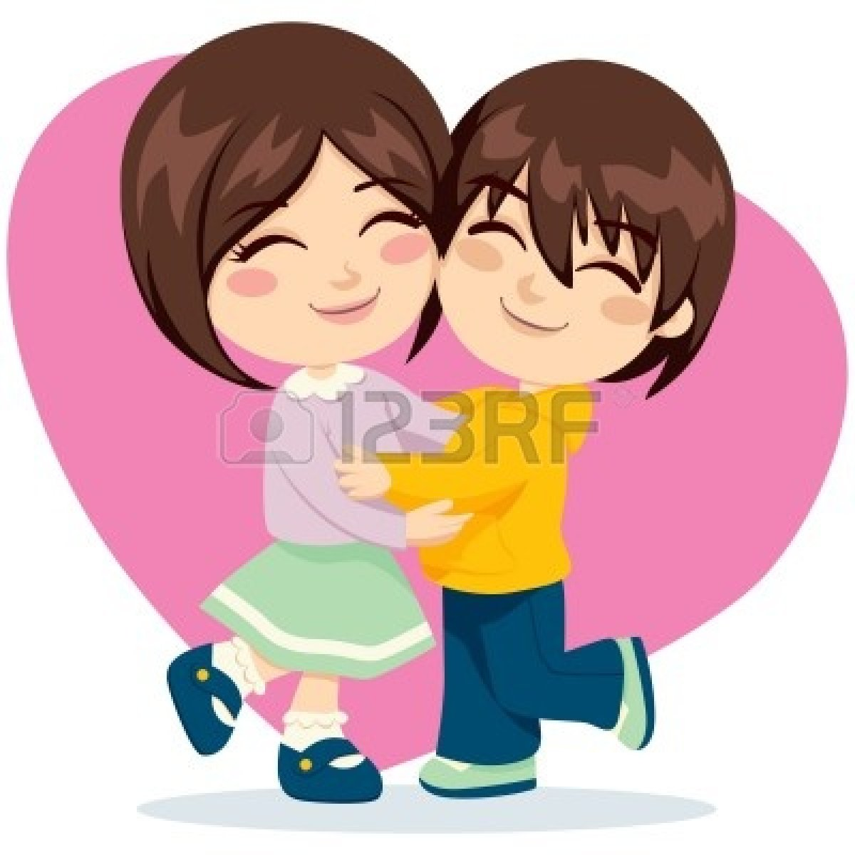 Two freinds hugging clipart emotional svg royalty free Friends Hugging | Free download best Friends Hugging on ... svg royalty free