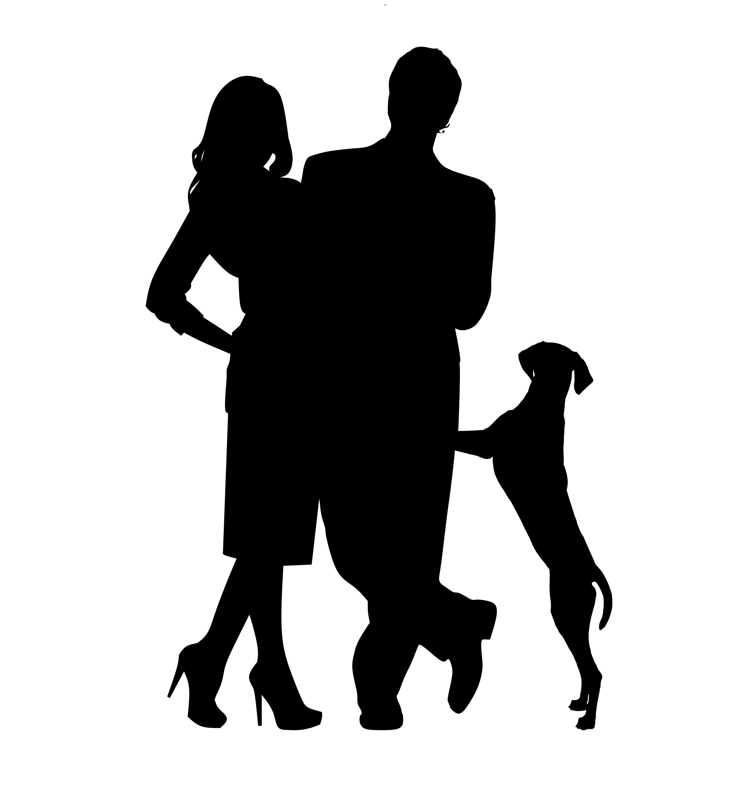 Two freinds hugging clipart emotional png library library Free Images : man, woman, silhouette, friend, pet, family ... png library library