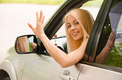 Two girls in car waving goodbye clipart clipart Free Waving Goodbye, Download Free Clip Art, Free Clip Art ... clipart