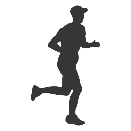 Two guys jogging png clipart vector freeuse download Jogging PNG Black And White Transparent Jogging Black And ... vector freeuse download