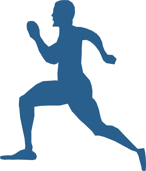Two guys jogging png clipart jpg download Running Man Clip Art at Clker.com - vector clip art online ... jpg download