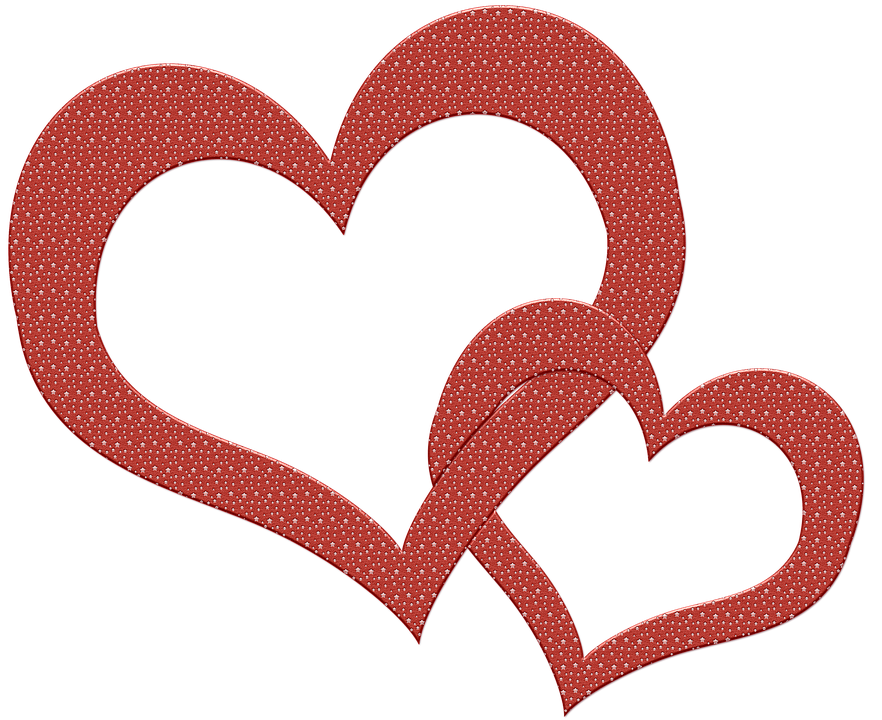 Two hearts become one clipart jpg royalty free download Heart - Free images on Pixabay jpg royalty free download