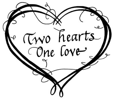 Two hearts become one clipart image library stock Two Hearts Become One Clipart – Clipart Free Download image library stock