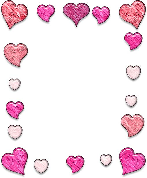 Two hearts clip art image library Two Hearts Design - Heart Designs Clipart image library