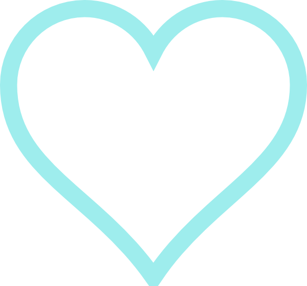 Curly heart outline clipart banner freeuse library Two Hearts Clipart Blue | Clipart Panda - Free Clipart Images banner freeuse library