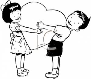 Two hearts clipart black and white banner royalty free stock Two Hearts Clipart Black And White | Clipart Panda - Free Clipart ... banner royalty free stock