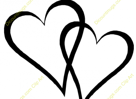 Two hearts clipart wedding freeuse download Wedding Rings With Two Hearts Clip Art - Namsp freeuse download