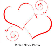 Two hearts intertwined clipart picture royalty free Two hearts Illustrations and Clipart. 16,545 Two hearts royalty ... picture royalty free