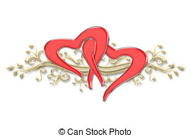 Two hearts intertwined clipart clip freeuse stock Two hearts Illustrations and Clipart. 16,545 Two hearts royalty ... clip freeuse stock