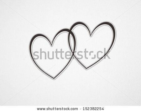 Two hearts intertwined clipart clip royalty free stock Intertwined Hearts Stock Images, Royalty-Free Images & Vectors ... clip royalty free stock