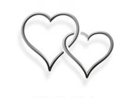 Two hearts intertwined clipart picture transparent Images 44,671 Wedding rings clip art Two Gold Hearts Intertwined ... picture transparent