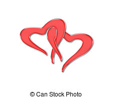 Two hearts intertwined clipart picture freeuse download Two hearts Illustrations and Clipart. 16,545 Two hearts royalty ... picture freeuse download