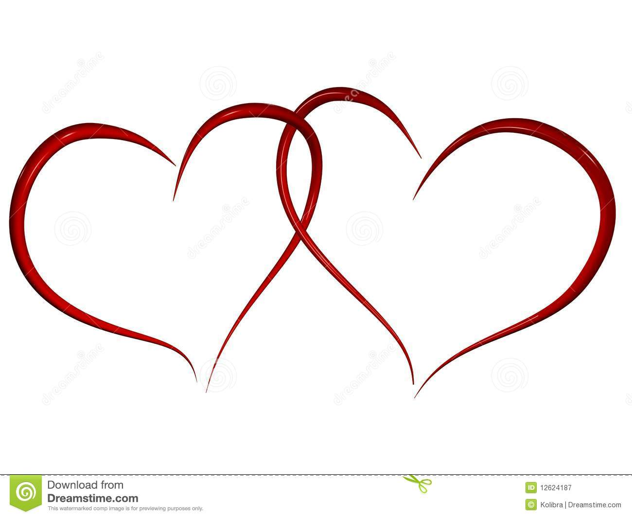 Two hearts intertwined clipart image library library Intertwined Stock Illustrations – 2,068 Intertwined Stock ... image library library