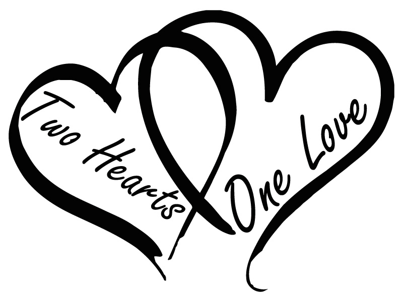 Two hearts one love clipart image download Two hearts one love clipart - ClipartFest image download