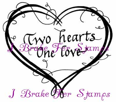 Two hearts one love clipart jpg black and white library Two Hearts One Love jpg black and white library