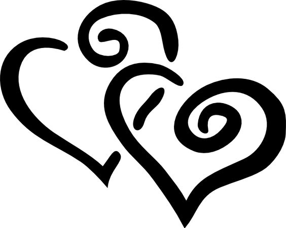 Two hearts outline free clipart clip art free stock flower outline clip art free 188 Flower Outline Clip Art Free ... clip art free stock