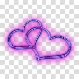 Two joined purple heart clipart clipart Two purple heart art, Two Attached Hearts transparent ... clipart
