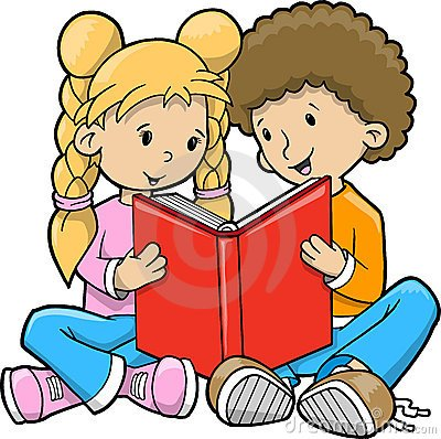 Two kids reading clipart picture transparent Two kids reading clipart 1 » Clipart Portal picture transparent