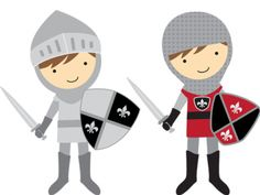 Two knights clipart png black and white library Free Knights Cliparts, Download Free Clip Art, Free Clip Art ... png black and white library
