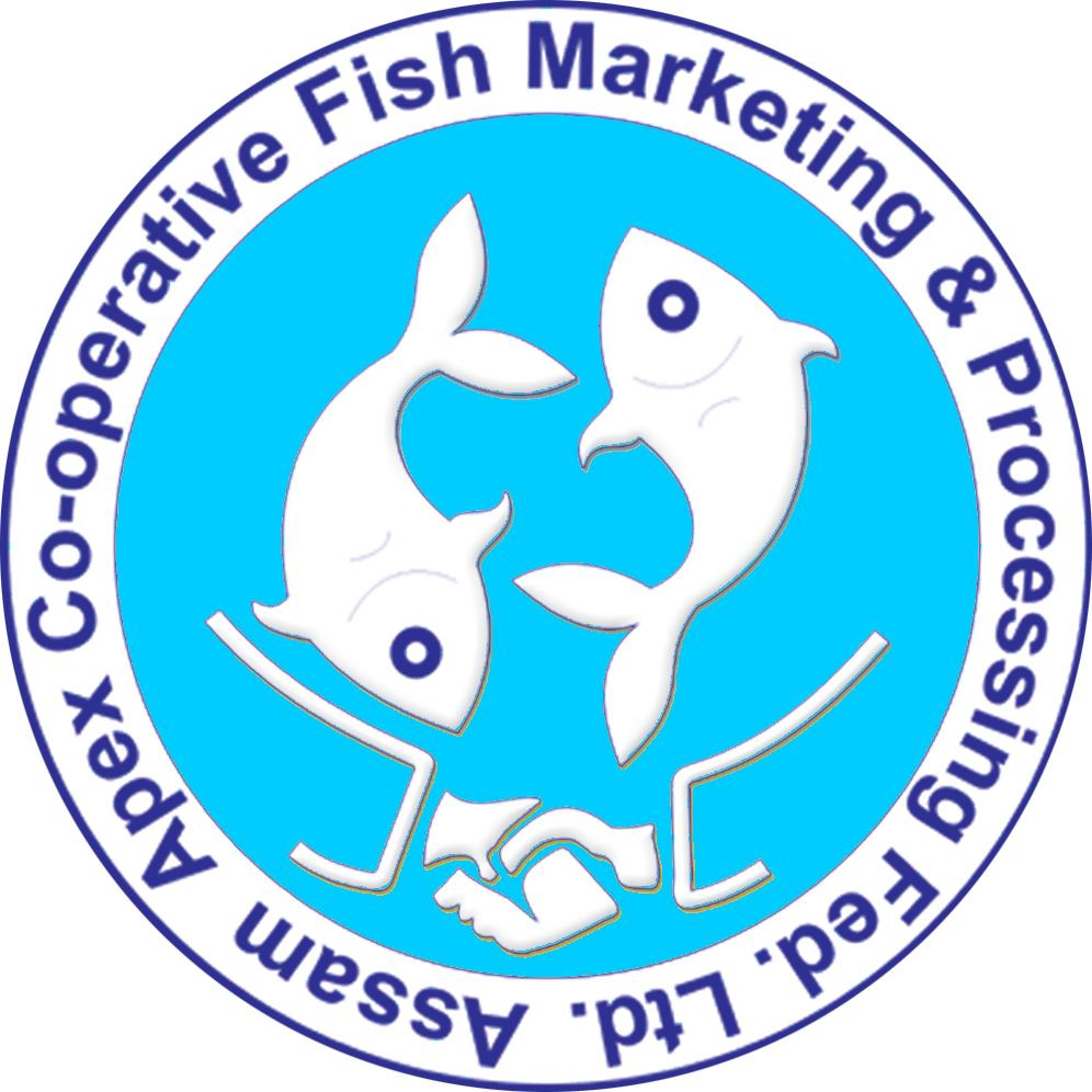 Two less fish in the sea clipart graphic FISHFED Assam e-Shop graphic